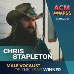 Christ Stapleton Wins Male Vocalist of the Year at 2018 ACMs