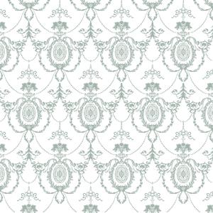 Möbelfolie Ornamentik Pastellgrün