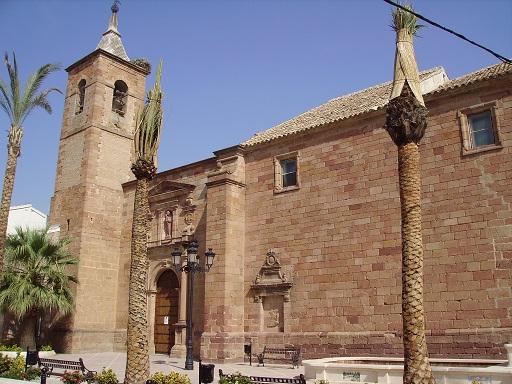 Iglesia de la Natividad, en Villanueva de la Reina. Foto: Manuel Rodríguez.