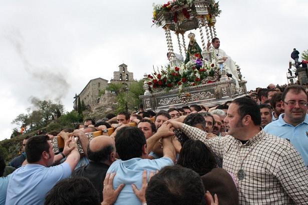 Romería de la Virgen de la Cabeza. Foto: Ayto. Andújar.