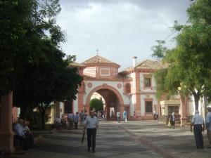 Plaza de España, en Andújar.