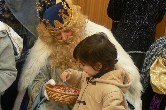 Un momento de la Cabalgata de Reyes del año pasado.