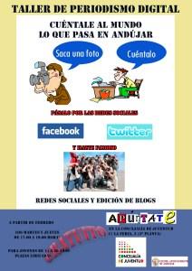 Cartel taller periodismo (2)