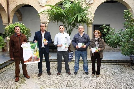Acto de presentación de la 22 edición de las Jonadas Gastronómicas de Andújar.
