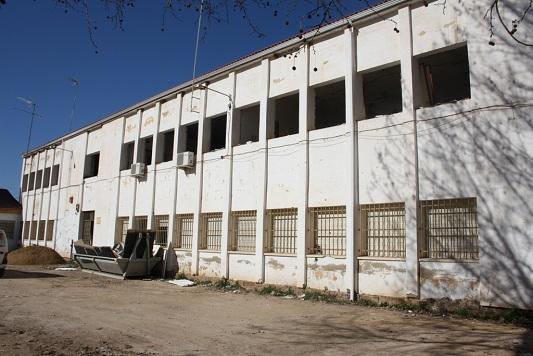 Fachada del antiguo Colegio Arias Abad, donde se ubicará la Casa de la Música.