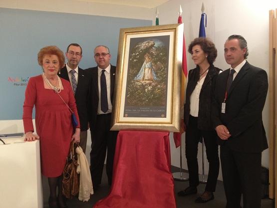 María del Carmen Torres, Juan Antonio Sáez, Jesús Estrella, Pilar Aldehuela y Joaquín Luque.