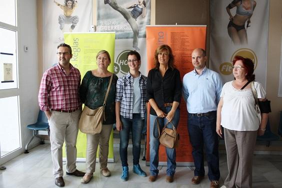 La concejala de Mujer e Igualdad y Educación, Rosa María Fernández de Moya, asistió a la inauguración de la exposición.