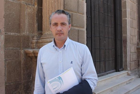 El concejal de Desarrollo Local y Promoción Económica de Andújar,  Joaquín Luque.
