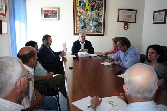 Última reunión de la Comisión Permanente de Trabajo-Mesa de las Inundaciones, en Andújar.