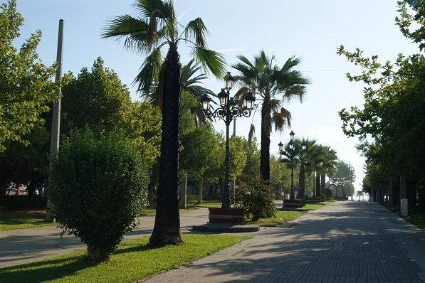 Paseo de la Libertad, en Marmolejo.