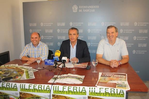"""Acto de presentación de la III Feria Multisectorial """"Ciudad de Andújar""""."""