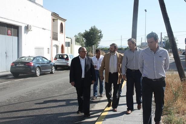 Jesús Estrella, Juan Lillo, Francisco Carmona y Félix Caler.