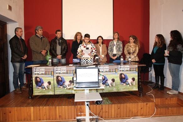 Acto institucional en Andújar de lectura de manifiesto contra la Violencia de Género.