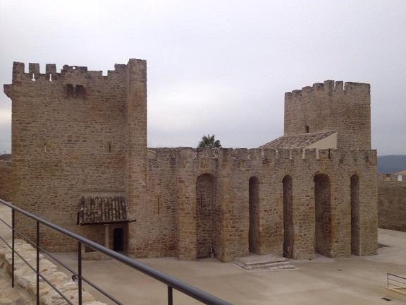 El Castillo de Lopera una vez finalizadas las obras. Foto: Const. Sánchez.