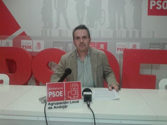 El concejal socialista en el Ayuntamiento de Andújar,  Jesús Del Moral.