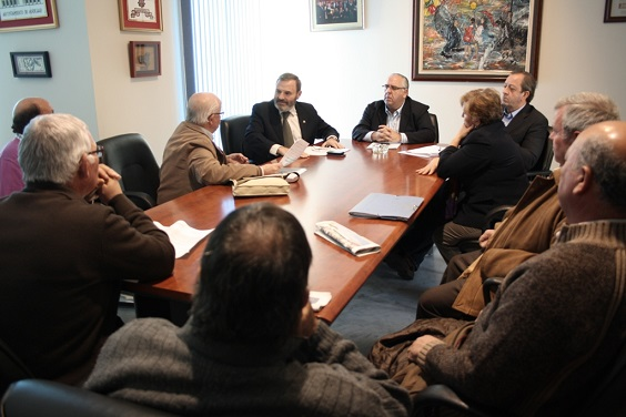 Reunión informativa con los diferentes colectivos de afectados por las inundaciones.