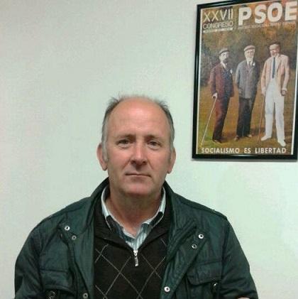 El concejal socialista en el Ayuntamiento de Andújar, Luis Salas.