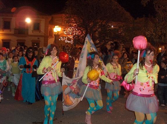 El Carnaval de Andújar en una anterior edición.