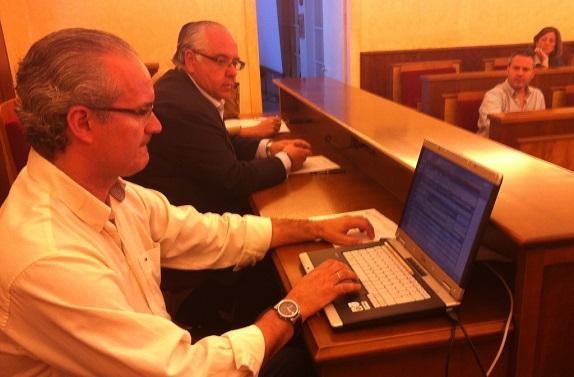 Pleno Extraordinario de la Corporación Municipal de Andújar.