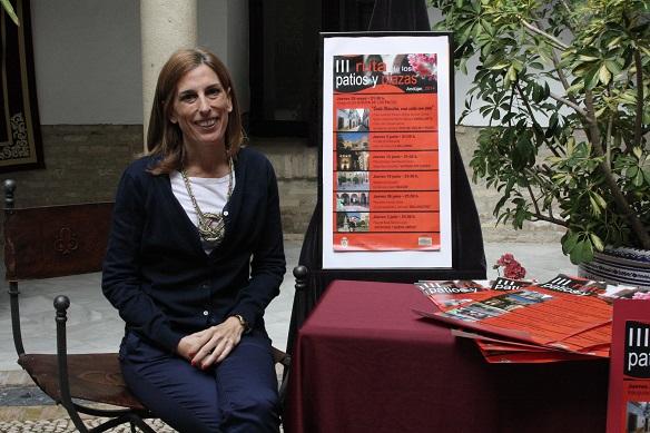 La concejala de Cultura, Delia Gómez, presenta esta ruta.