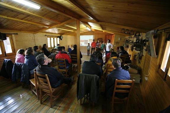 Jornada de convivencia de la Asociación Andaluza de Hemofilia (Asanhemo), en Andújar.