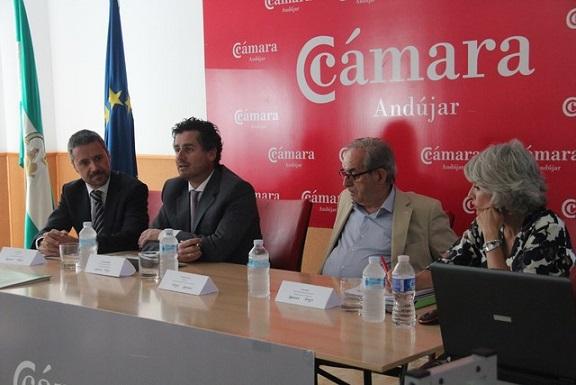Eduardo Criado, Francisco Bellido, Tono Mestre y Mar Pérez.