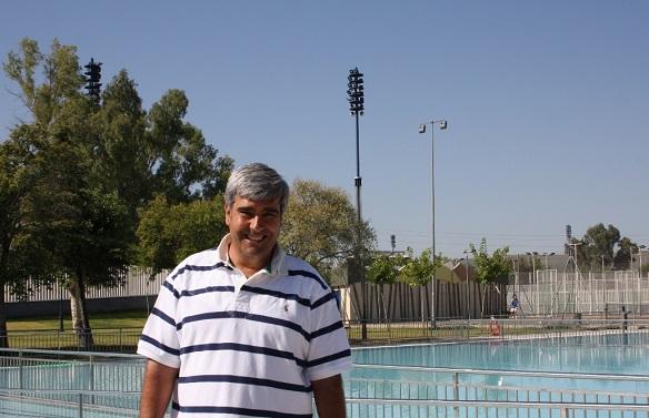 El concejal de Deportes de Andújar, Curro Martínez.
