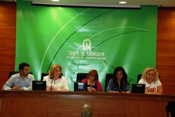 Acto de presentación sobre la incidencia de este decreto en la provincia de Jaén.