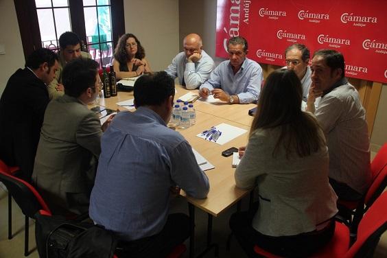 Encuentro entre empresarios de Andújar y representantes de la delegación turca.