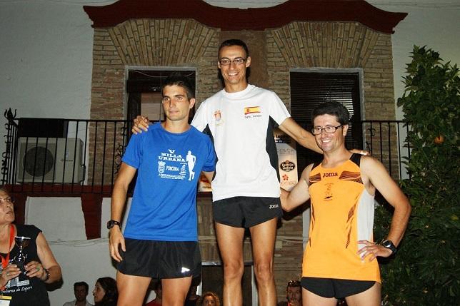 Vencedores en categoría sénior masculina.
