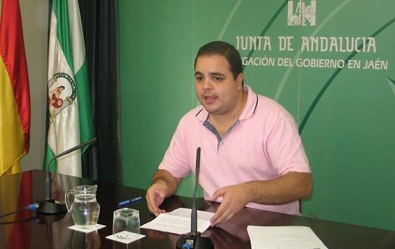 El coordinador provincial del IAJ, Víctor Torres.
