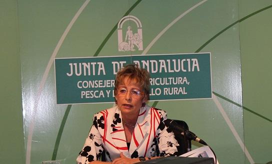 La consejera de Agricultura, Elena Víboras,  anuncia el nuevo Programa de Desarrollo Rural (PDR) de Andalucía.