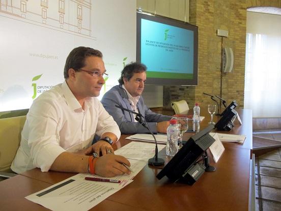 Paco Huertas ha presentado el balance del Plan Director de Gestión de Residuos Inertes.