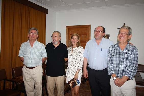 Acto de presentación de la Semana de San Miguel, en Andújar.