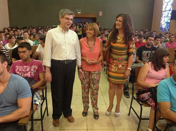 Acto oficial de inicio del curso de Secundaria en Jaén.