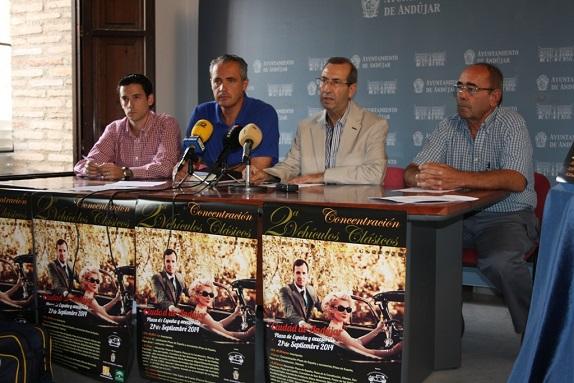 Rueda de prensa en Andújar para presentar este acto.