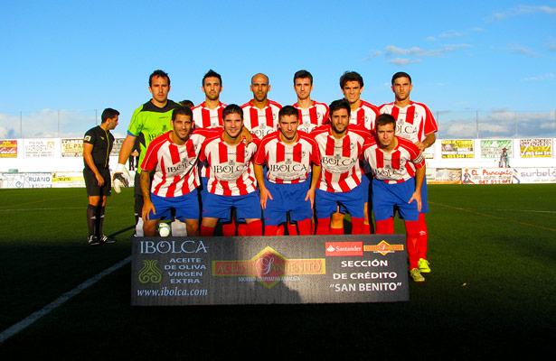 Once inicial del Atlético Porcuna para este partido.