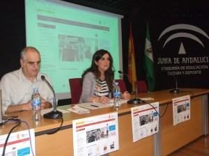 Caballero. Presentacion eBiblio Andalucía 06-10-14