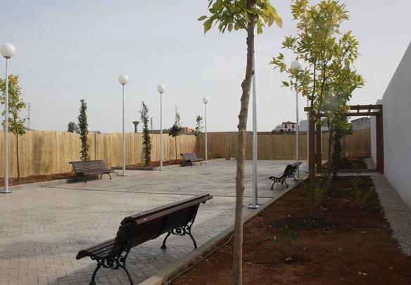 Instalaciones del Cementerio Parque de Andújar.