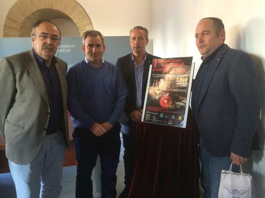Acto de presentación del I Campeonato Nacional de Corte de Jamón Ciudad de Andújar.