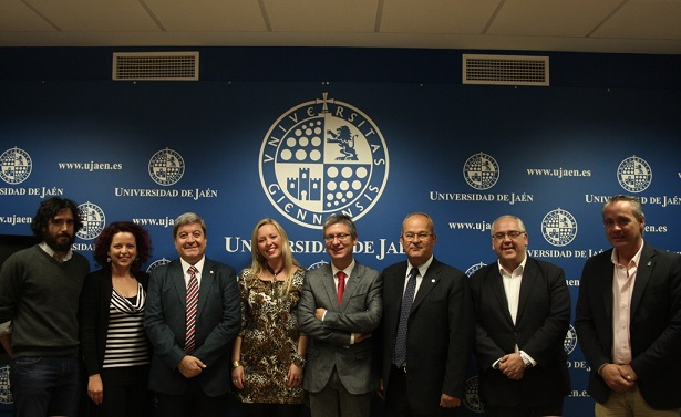 Encuentro mantenido en la Universidad de Jaén con representantes de la empresa turca Polat.