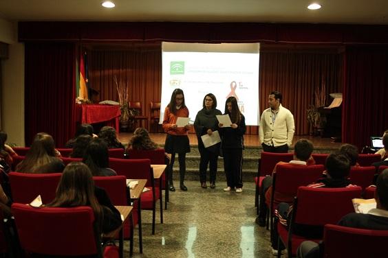 Un instante del acto desarrollado en Andújar.