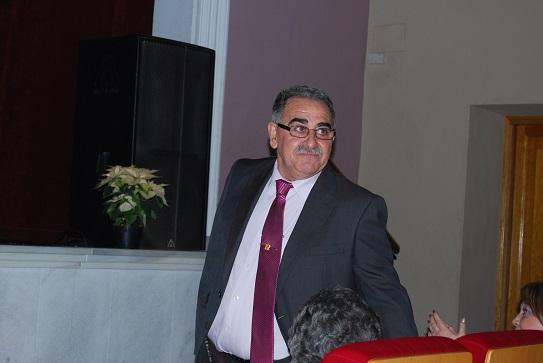 Roque Lara Carmona en un acto público.