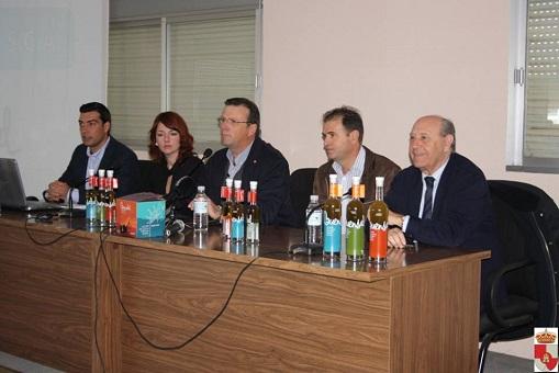 Acto de presentación de la nueva imagen de Aceites Guadalquivir.