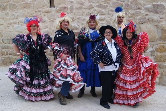 Los disfraces y el atrevimiento caracterizaron al Carnaval de Lopera.