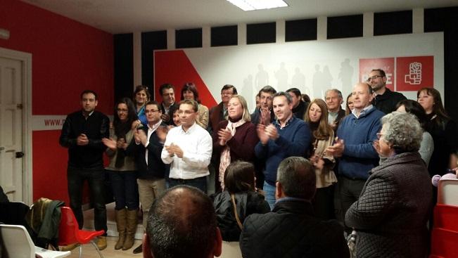 Candidatura del PSOE de Andújar para las próximas elecciones municipales.