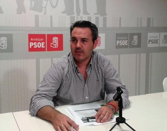 El concejal socialista en Andújar, Jesús del Moral.