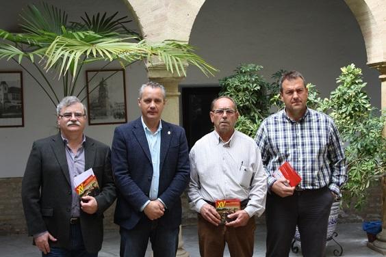 Acto de presentación del XV Encuentro de Vehículos Históricos Ciudad de Andújar.