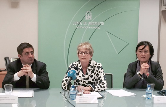 Acto de presentación de Expoliva, en Madrid.