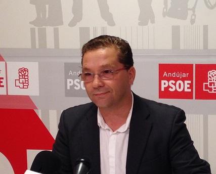 El candidato socialista a la alcaldía de Andújar, Paco Huertas.